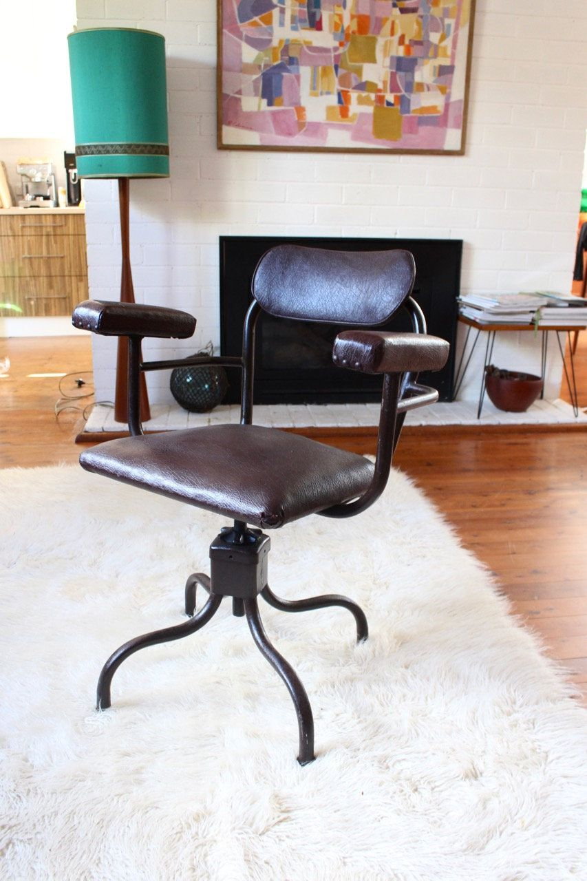 Industrial Swivel Office Chair Pick Up Sydney Swivel Office Chair Office Chair Office Chairs Australia