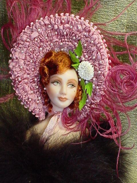 """5 1/2"""" Miniature doll by Yolanda"""