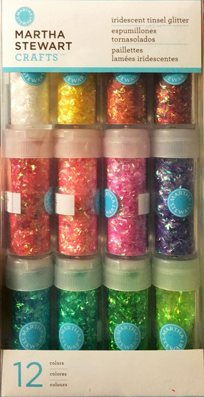 Pretty Glitter Resin Container