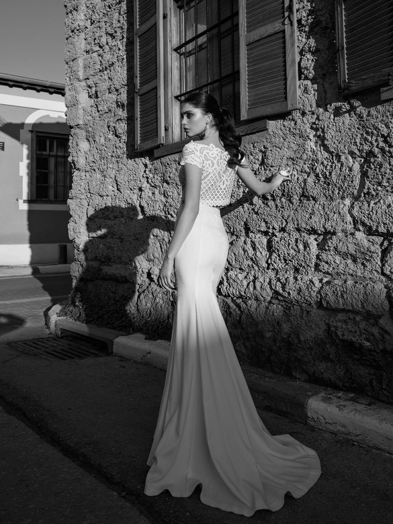 Black and white dresses for wedding guests  Lorraine Collection    Riki Dalal  Bridal Dress  Pinterest