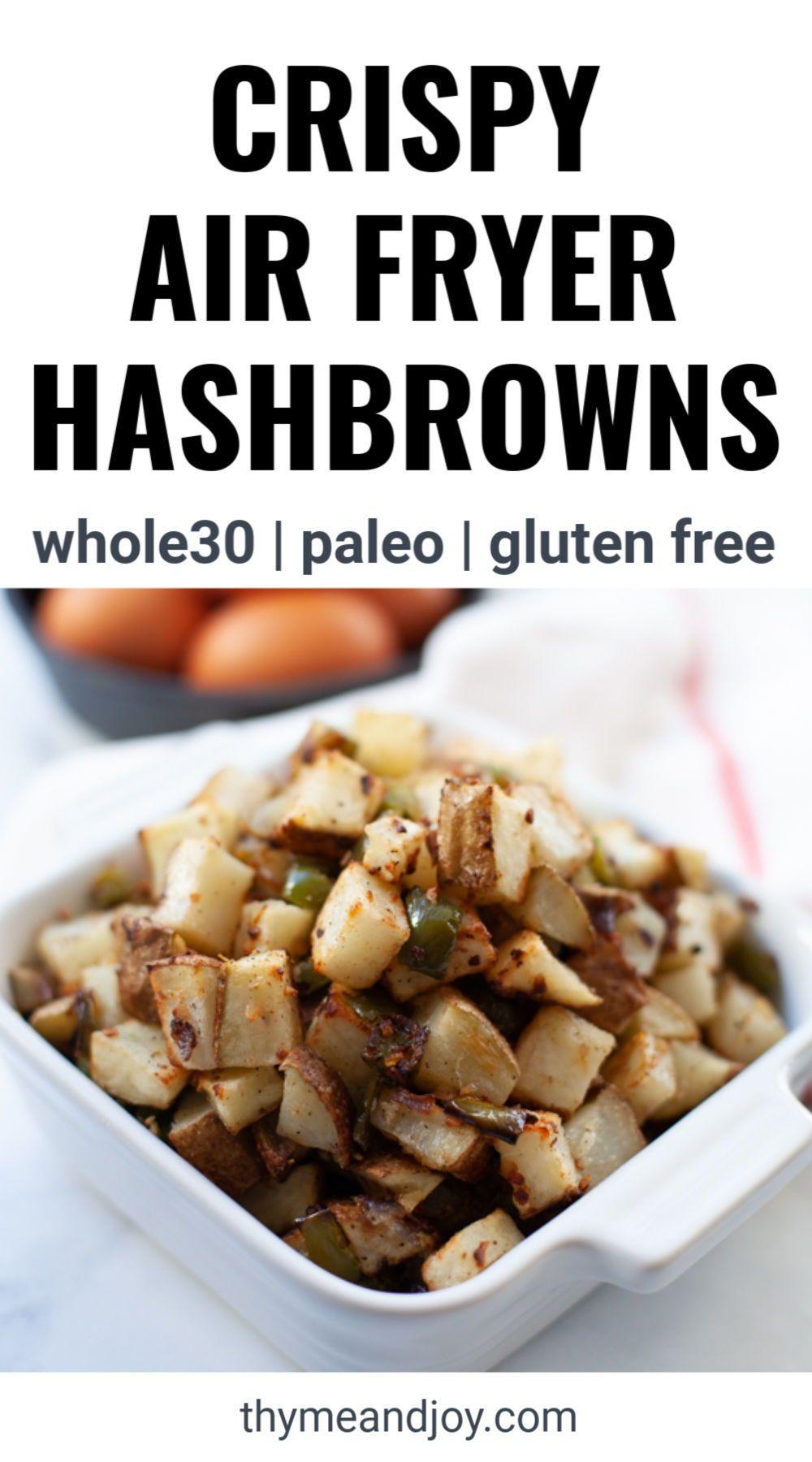 Air Fryer Hashbrowns Recipe Air fryer healthy, Healthy