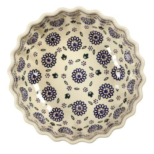 Geometric Florals Large Fluted Serving Bowl | Christmas Tree Shops ...