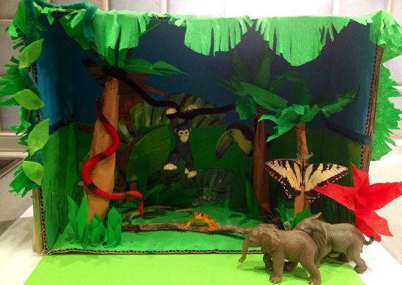 Diorama selva