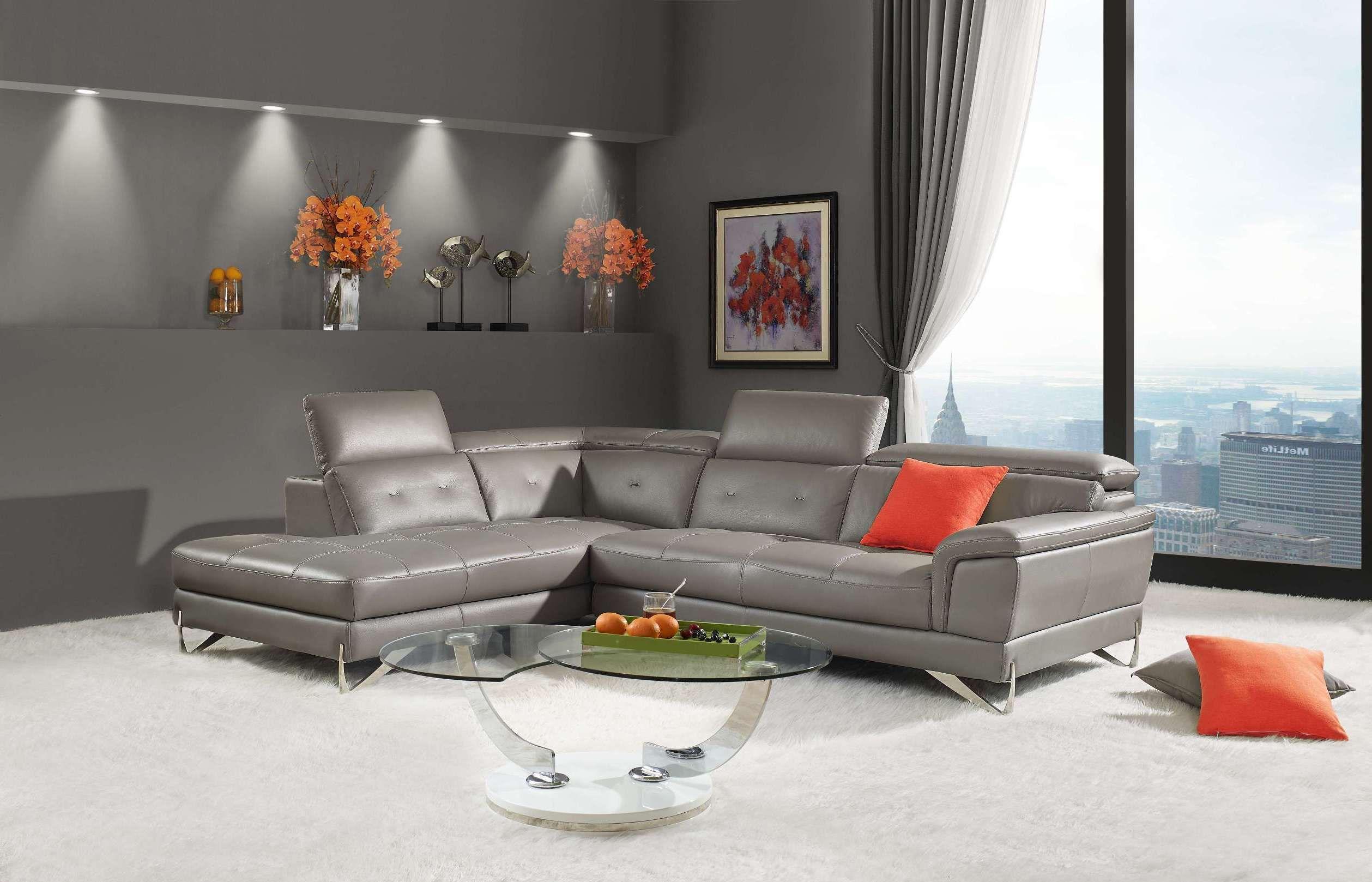 Contemporary L Shaped Dario Sectional Sofa Creative Furniture