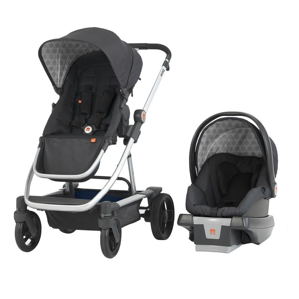 GB Evoq 4in1 Travel System Charcoal (Grey) Travel