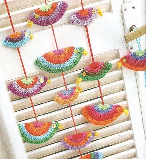 Miniaturas y gráficos gratuitos | Souvenirs y apliques a Crochet ...