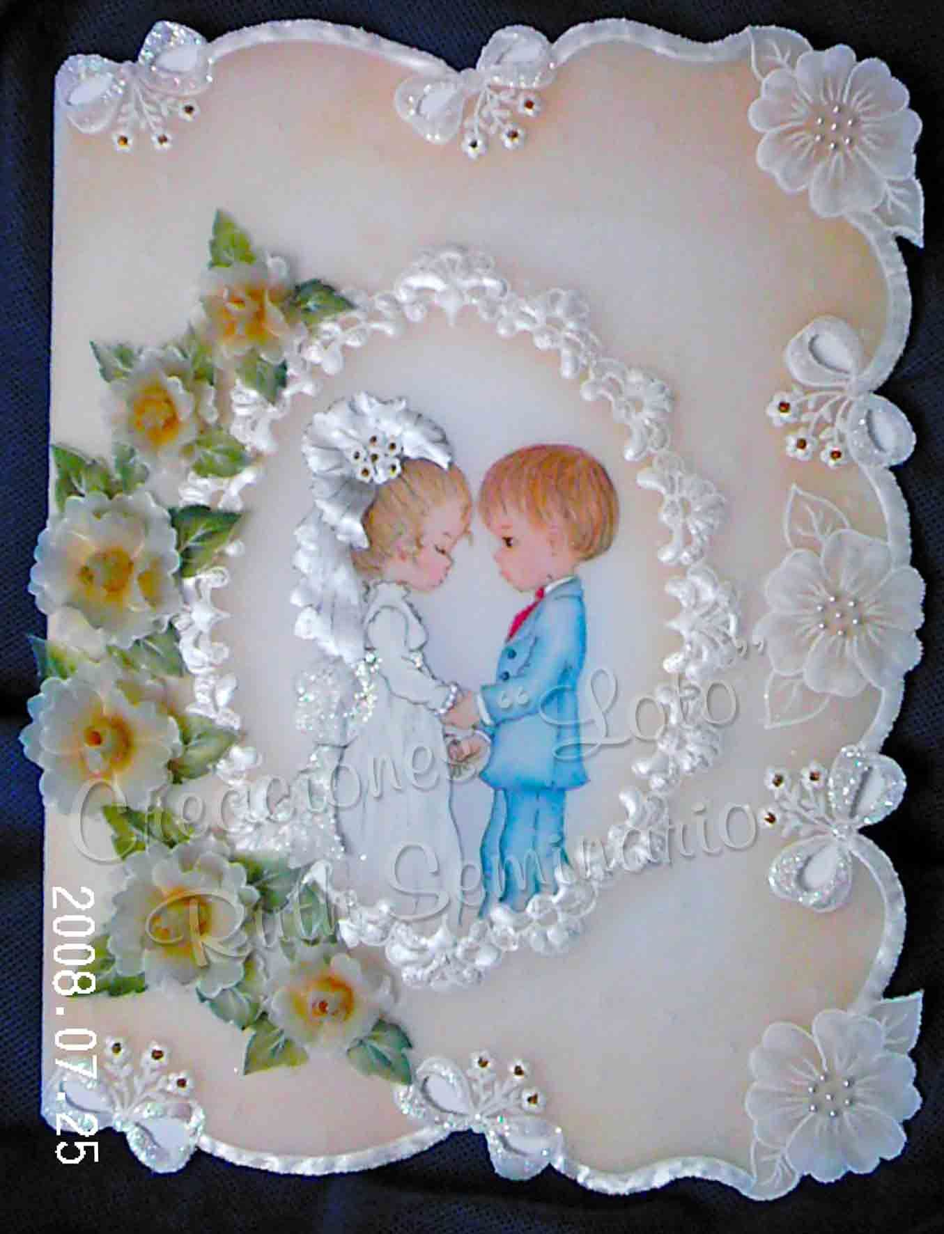 Handmade wedding decorations paper  Pergamino pergamano Handmade Parchment  PERGAMINO PERSONAS