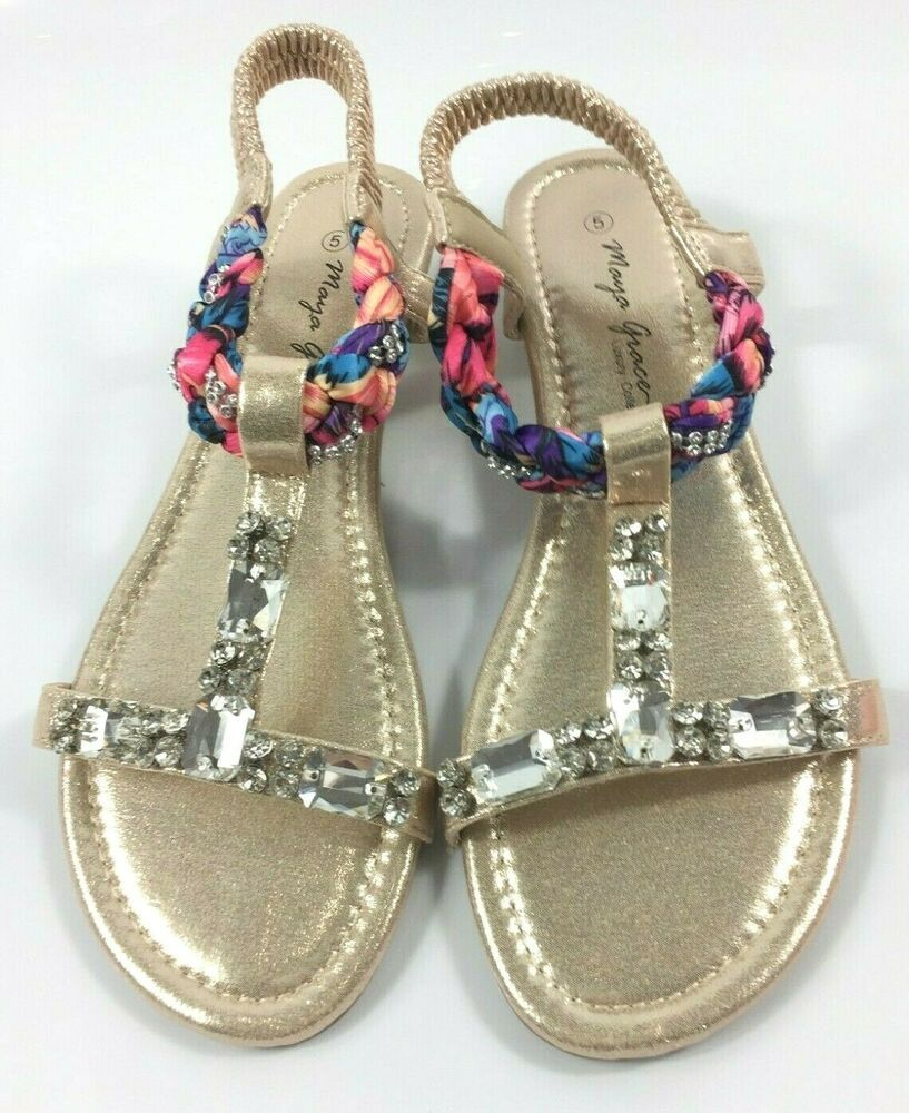 WOMENS LADIES LOW HEEL WEDGE SUMMER HOILDAY BEACH SLING BACK SANDALS SHOES SIZE