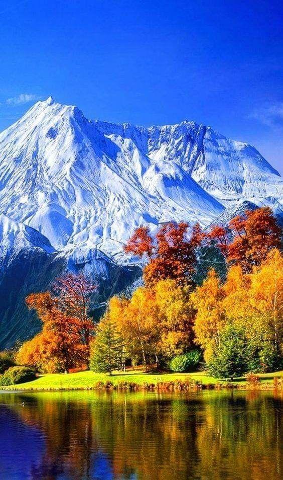 Nieve en las Montañas. (con imágenes) Paisaje de