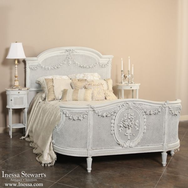 Antique Bedroom Furniture  Beds  Antique French Louis Xvi Brilliant French Bedroom Set Design Ideas