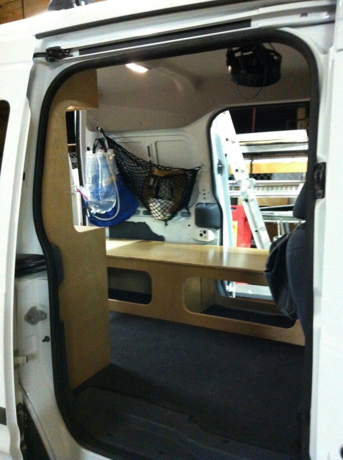 Ford Transit Connect Camper Pkg Diy Campervan Van Cabinets Ebay