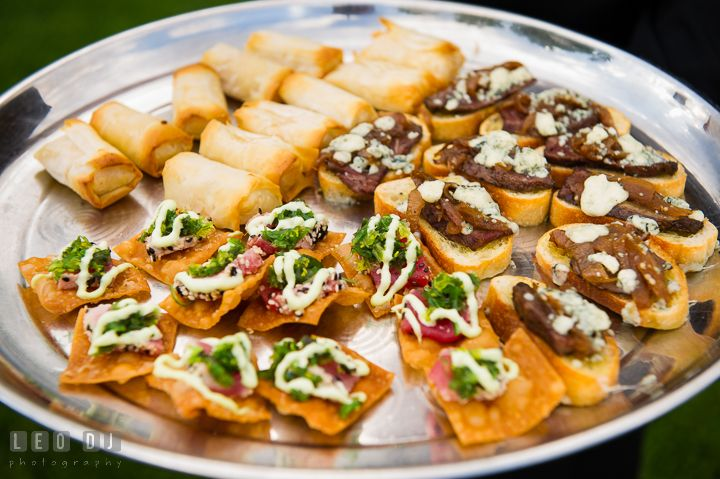 Delicious Finger Food Or Hor D'oeuvres During Cocktail