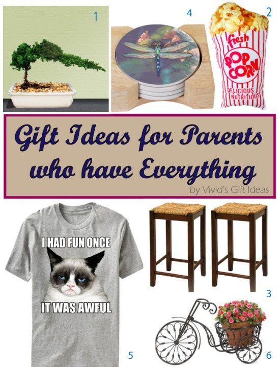 unique gift ideas for parents who have everything family gift
