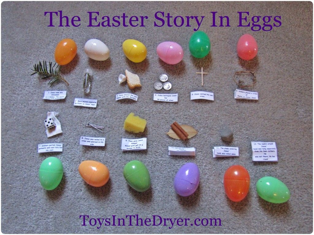 Photo of The Easter Story In An Egg Hunt–FREE Printable | Toys In The Dryer