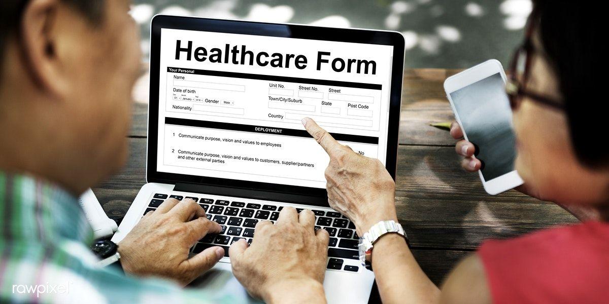 Download premium image of heathcare form insurance