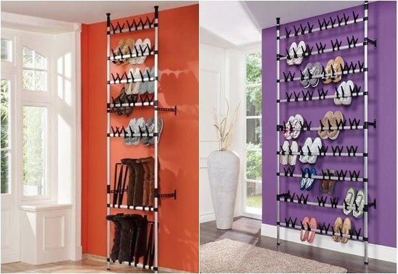 Zapateros organizar y almacenar calzado en casa ropero - Como almacenar zapatos en casa ...