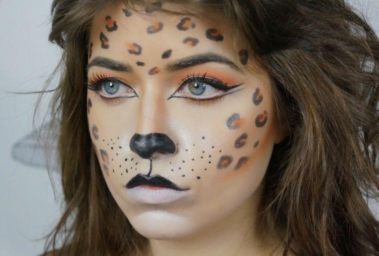 Leopard Schminken Tolle Und Simple Ideen Fur Leopard
