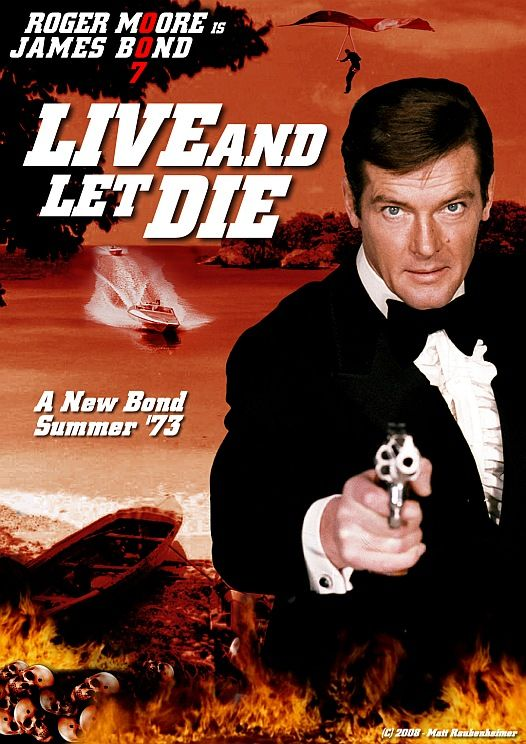 To Live And Let Die : James, Movies,, Bond,, Movies
