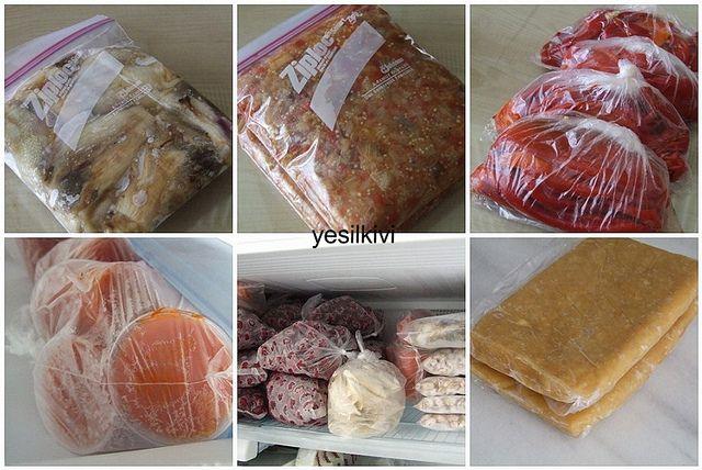 KIŞ HAZIRLIKLARI 1 (dondurucu) - yesilkivi - denenmiş, fotoğraflı tatlı ve yemek tarifleri...