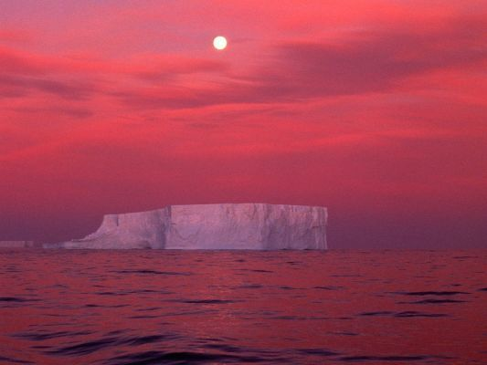 Antarctica, Red skies xxx