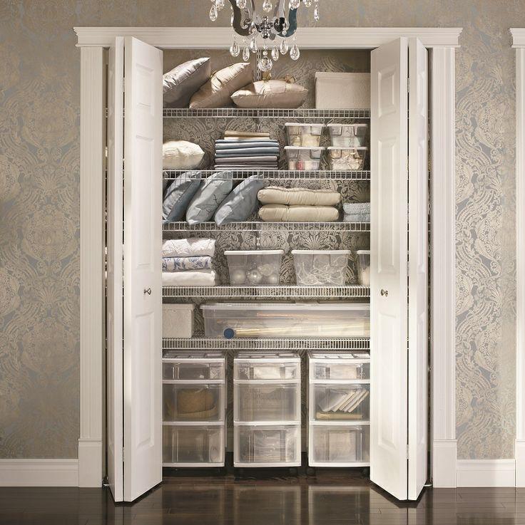 Storage maximize the closet and wardrobe Ideas to