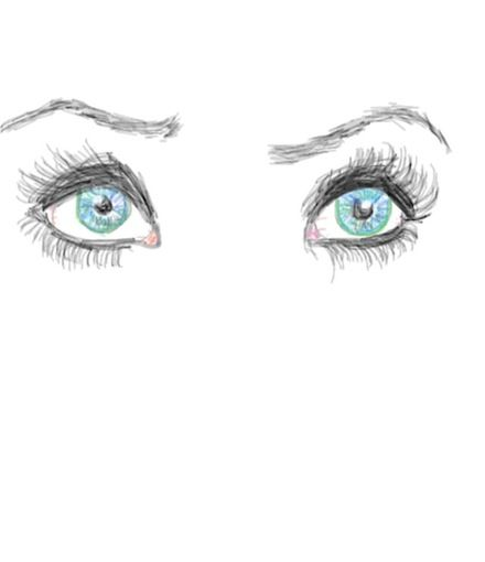 #Eye #Colorized #Sketch by Amanda. Start Colorizing today by downloading the app for your iPhone or iPod touch. Go to http://colorized.by for more info.