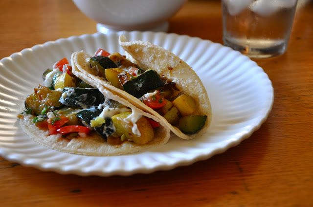 ¡Hola! Jalapeño: Summer Squash Tacos