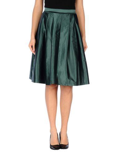 MNML COUTURE Women's Knee length skirt Green L INT