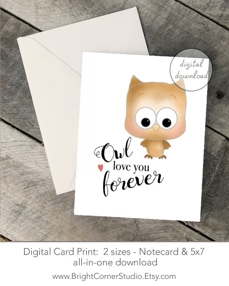 image relating to Printable Notecard named Printable Notecard 5x7 Card measurement, Valentines, Anniversary