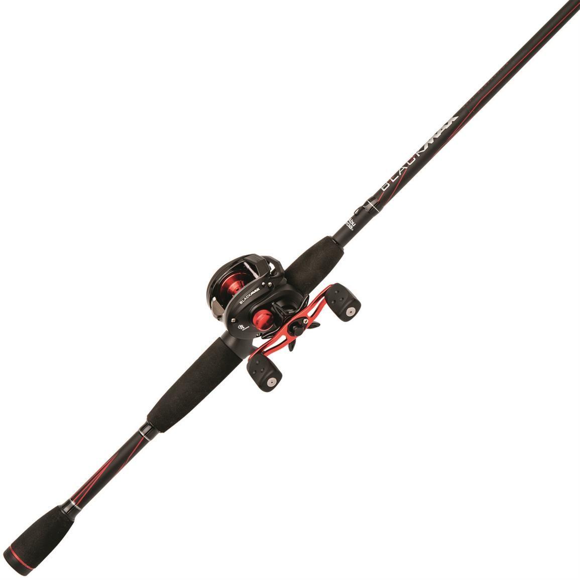 Abu garcia black max baitcasting rod and reel combo