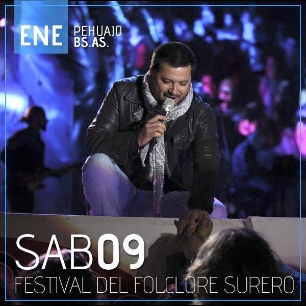 Jorge Rojas en el Festival del Folklore Surero - Discos de Entre Ríos® ERD Music®