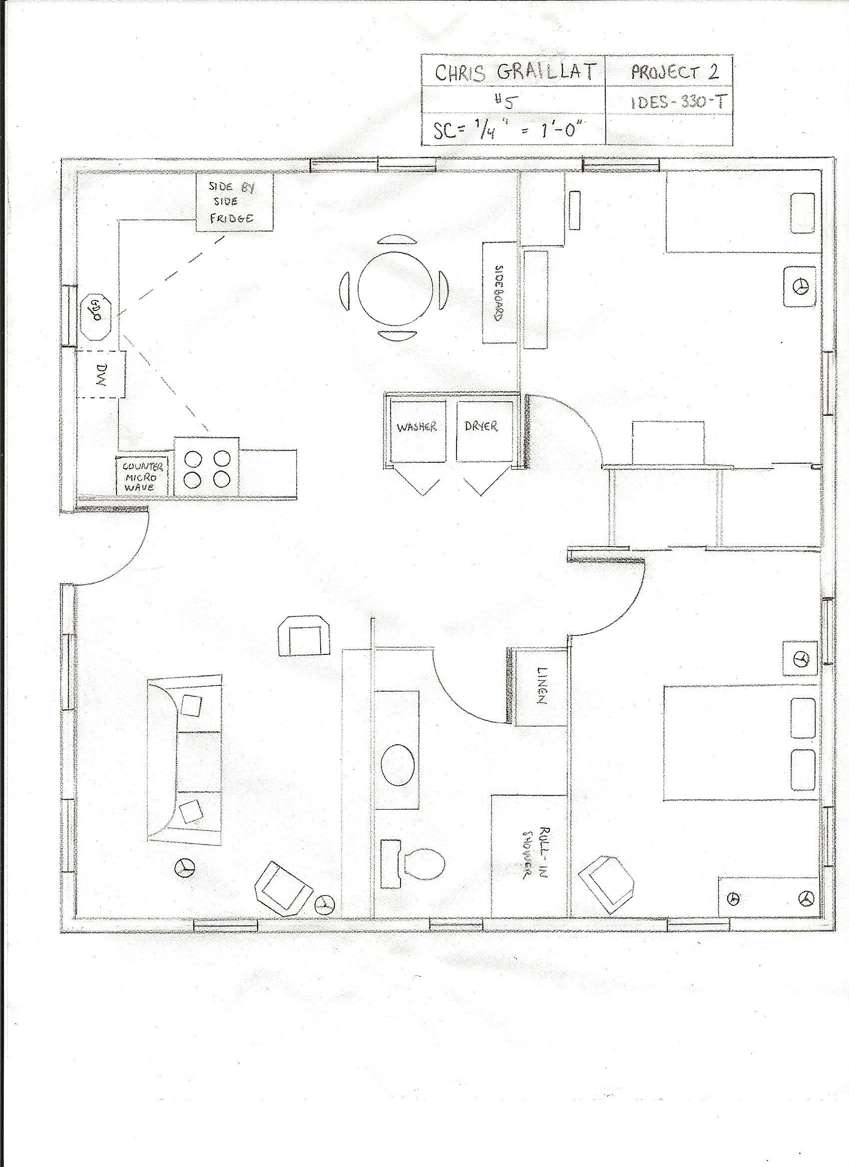 Ada Compliant Cottage Floor Plan Bathroom Floor Plans House Floor Plans Floor Plans