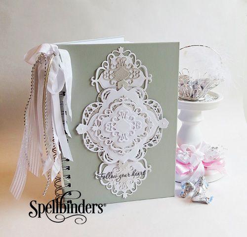 create your own wedding planner  spellbinders  wedding