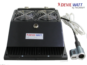45 Watt Teg Generator For Wood Stoves With Air Cooling Thermoelectric Generator Electric Generator Wood Burning Stove