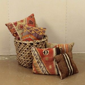 Kilim Pillows | Loot Vintage Rentals - furnishing weddings, events, parties, styled shoots, and more