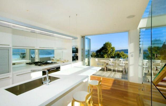 Inside Beach Homes Palm House By Crone Partners In The Suburb Of Sydney