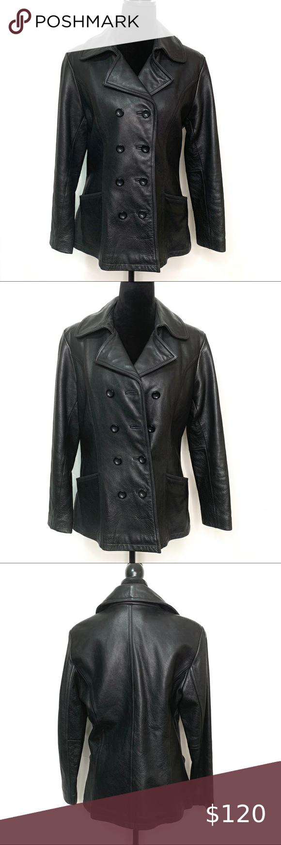 Vintage Jny Jones New York Leather Jacket Leather Jacket Jones New York Vintage Leather Jacket
