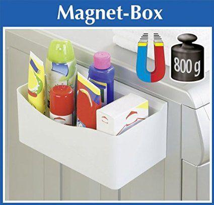 Wenko Magnet Box Praktische Aufbewahrungsbox Magnetbox Fur