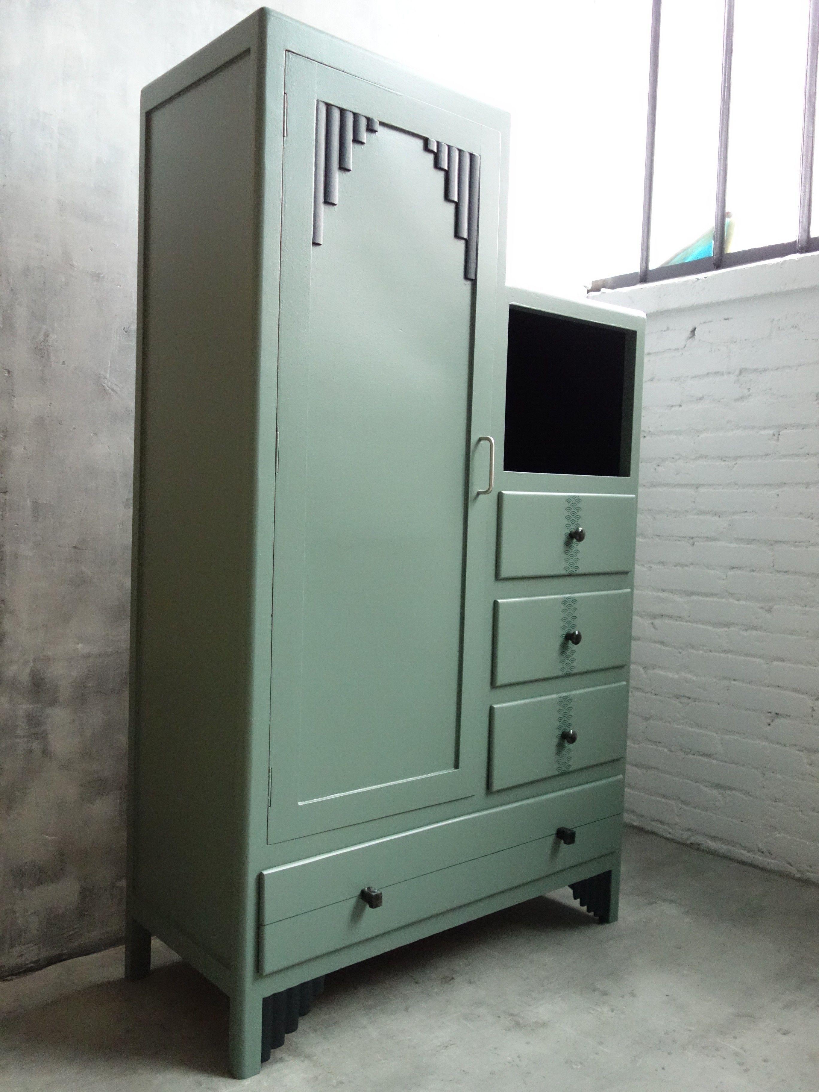 Armoire Parisienne Asymetrique En 2020 Muebles Antiguos Muebles Y Gris