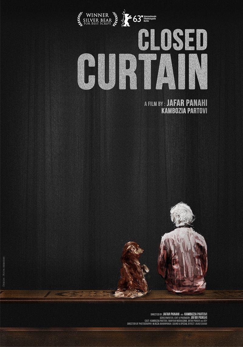 PARDÉ (Closed Curtain) de Jafar Panahi y Kambozia Partovi (Irán). Documental-Cine dentro del cine. Mejor guión en el Festival de Berlín