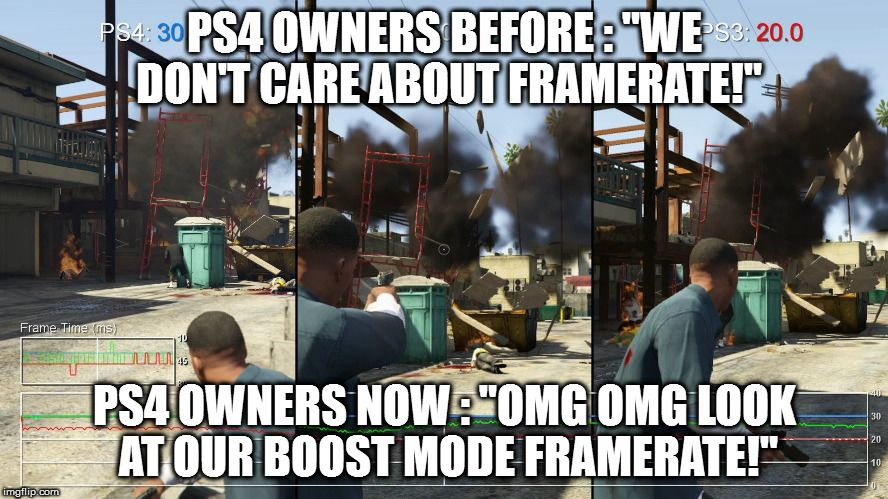 PS4 owners all of a sudden...