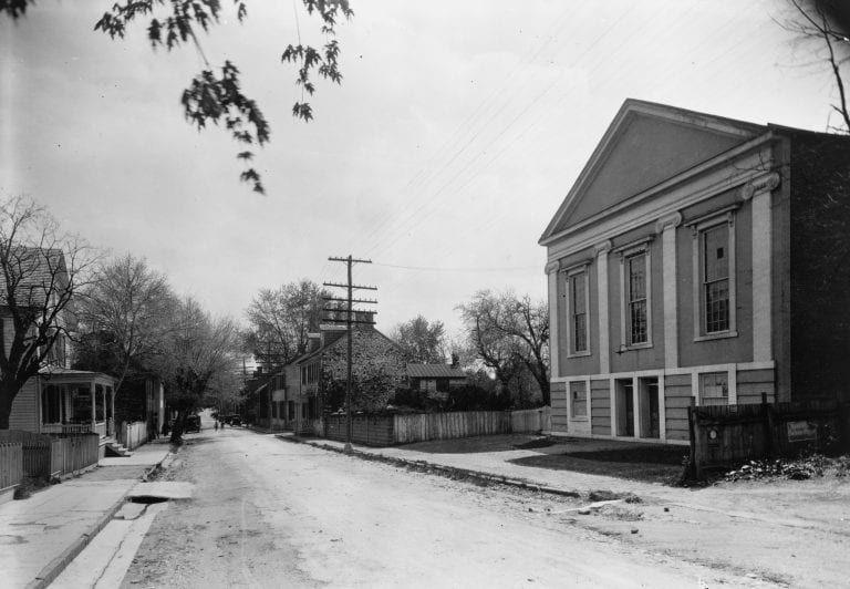 Leesburg United Methodist Church on Market Street (1920) #1920s