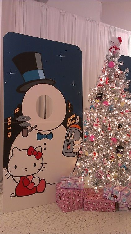 Hello Kitty silver tree