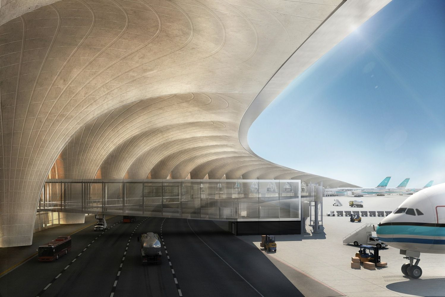Gallery of Kuwait International Airport / Foster + Partners - 3