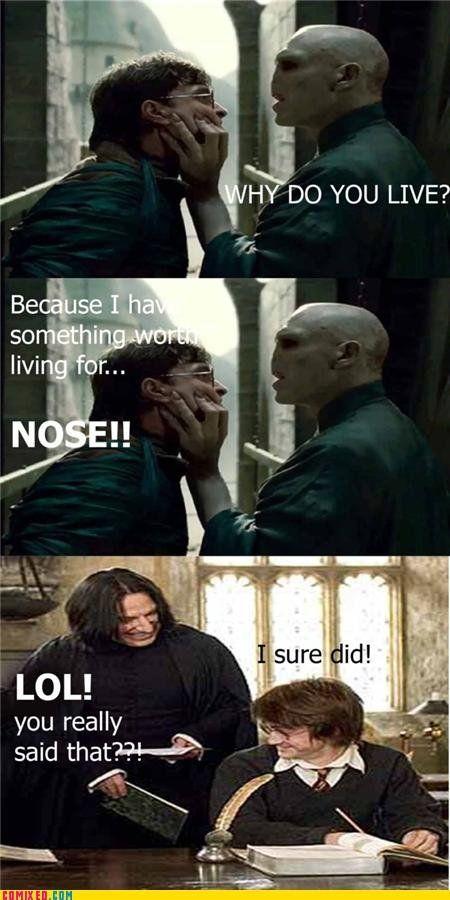 Nose Atores De Harry Potter Harry Potter Engracado Piadas Do Harry Potter