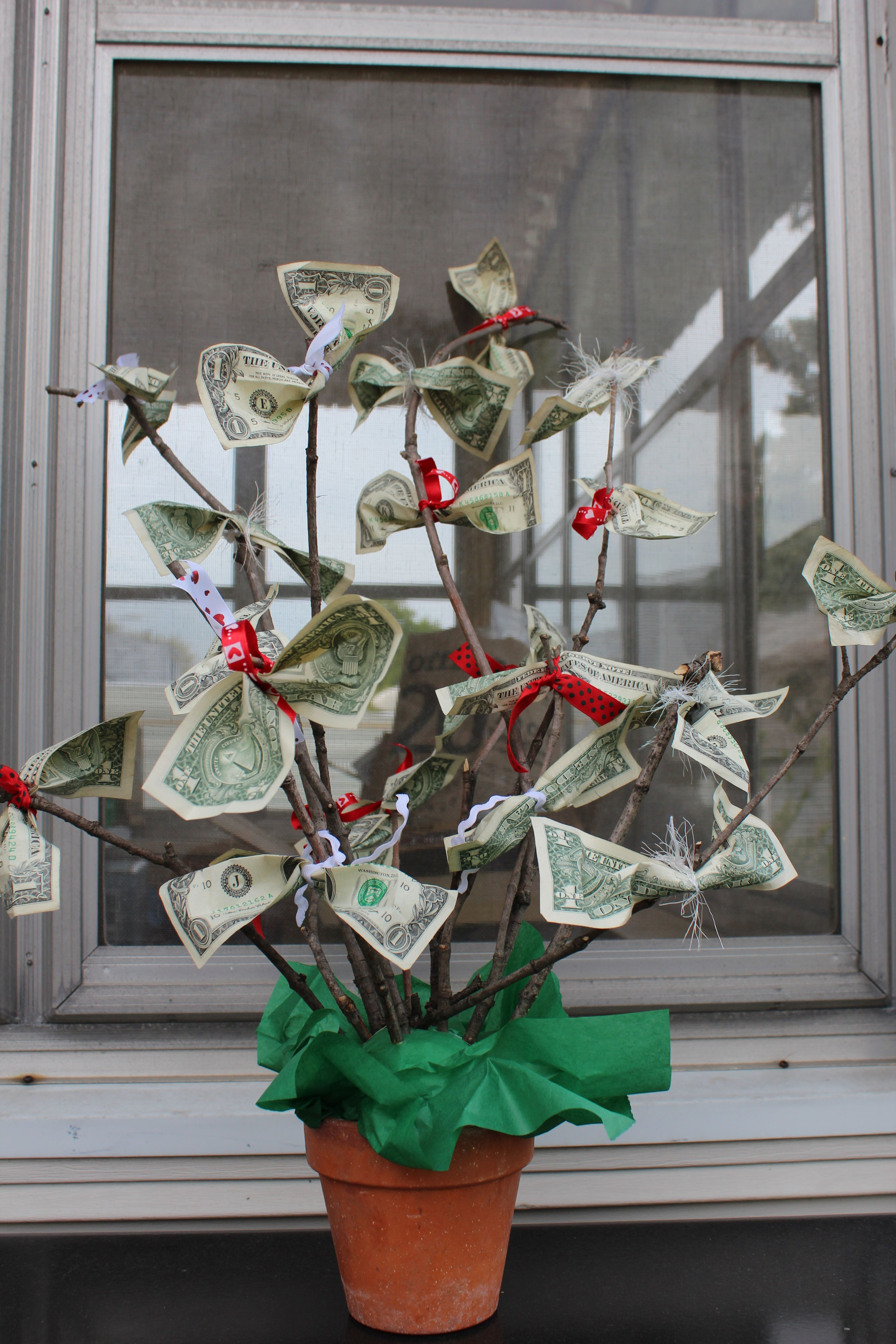 money tree craft money tree we made why didn t i think of that 2501