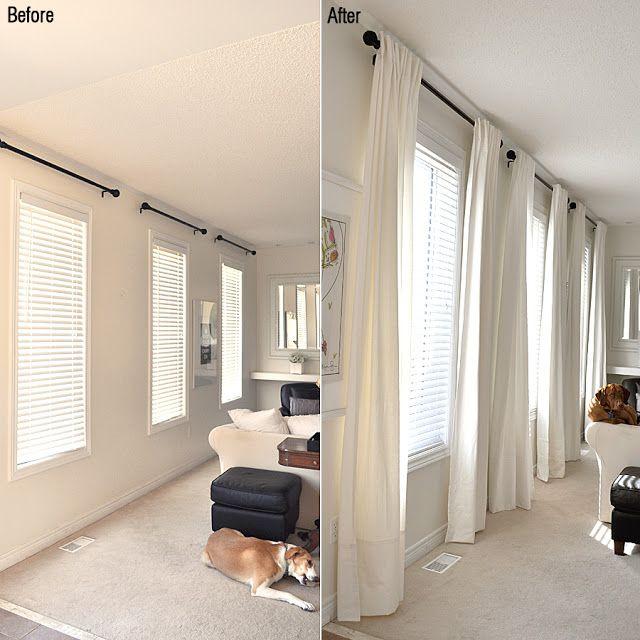 ceiling curtains ikea white curtains