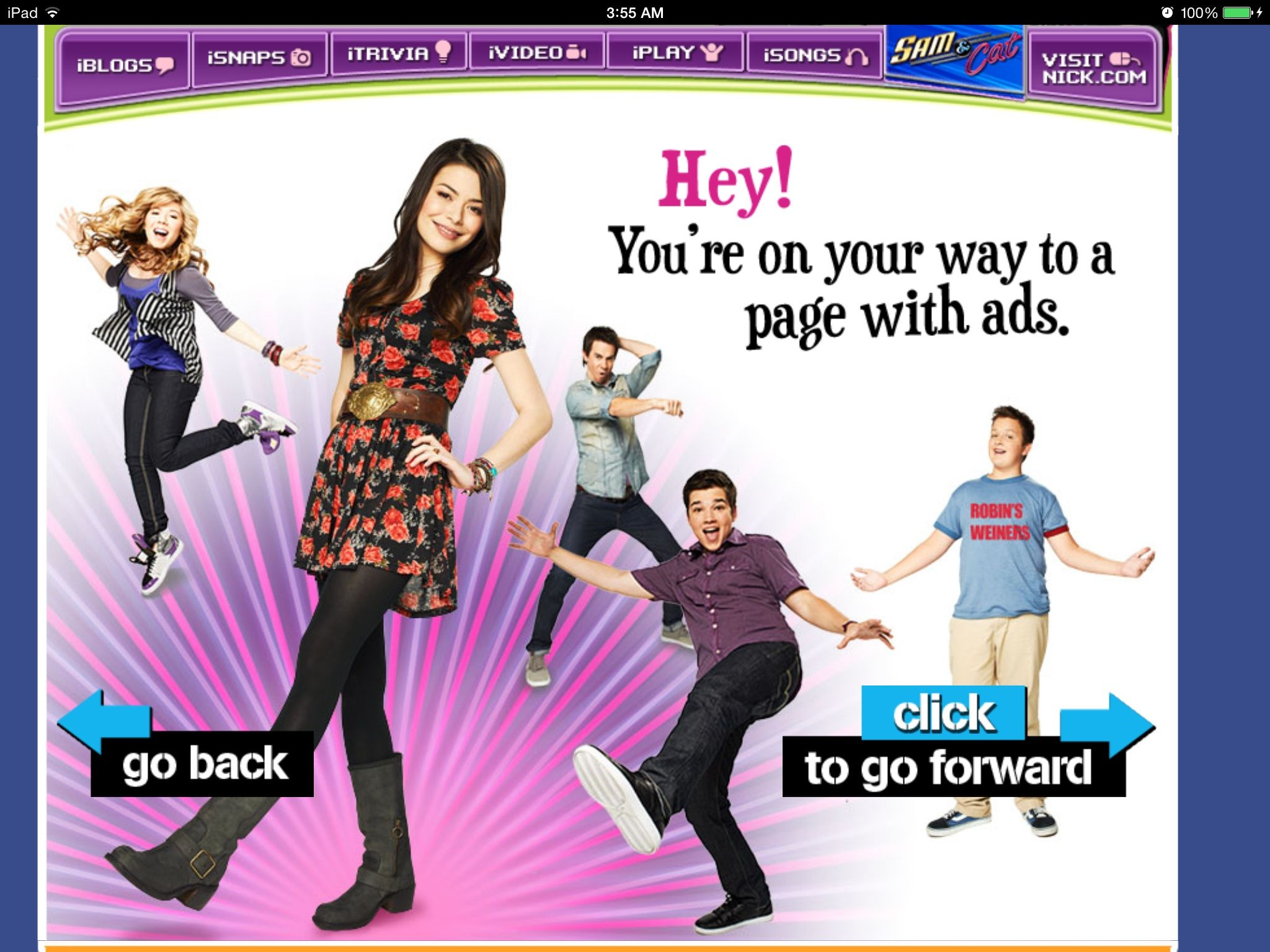 I just love their website! | Icarly | Icarly, Movie posters