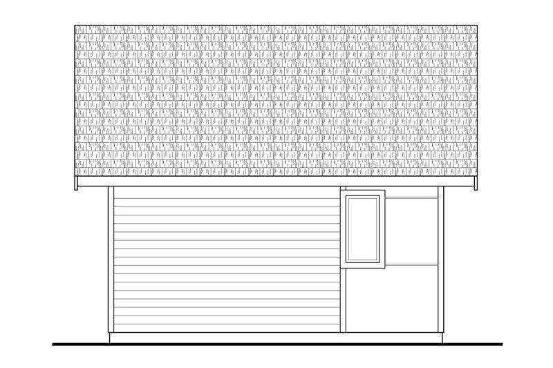 Modern Style House Plan 1 Beds 1 Baths 460 Sq Ft Plan 124 1199