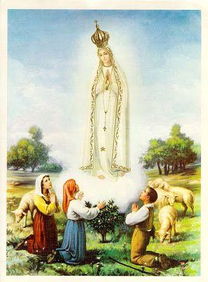 13 De Maio Aparicao De Nossa Senhora Em Fatima Nossa Senhora De